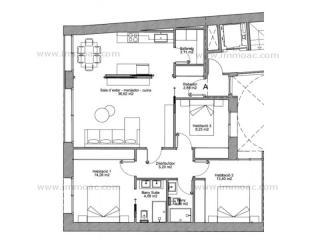 Acheter Appartement Andorra La Vella Andorre : 115 m2, 542 500 EUR